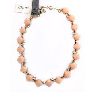 J.Crew stone squares necklace (NWT)